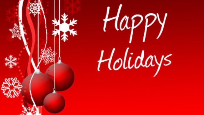 Happy Holidays 2015!