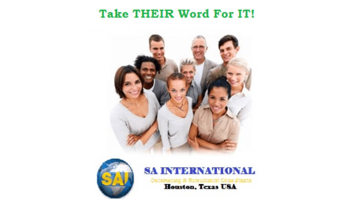 SA International Testimonials